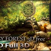 Fantasy Forest 3D Free – лесной уют на экране Sony Xperia