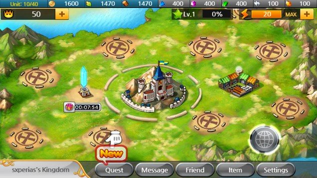 Kingdom Royale – мировое равенство для Sony Zperia Z, s, SP, ZR, P, ZL, Tablet