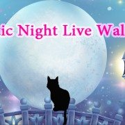 Обои Mystic Night Live Wallpaper – лунная ночка для Sony Xperia