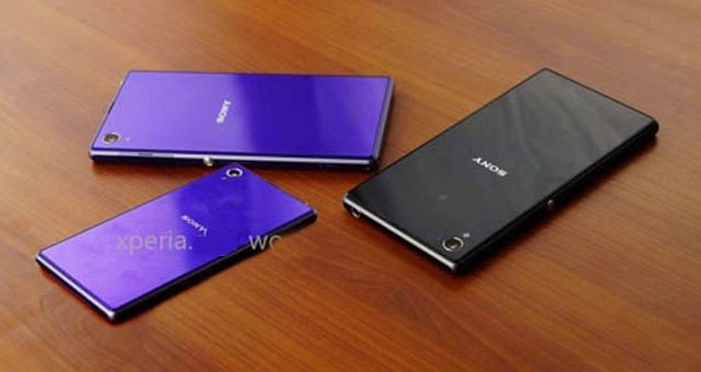 На фото засветился фиолетовый Sony Xperia Z1 Mini