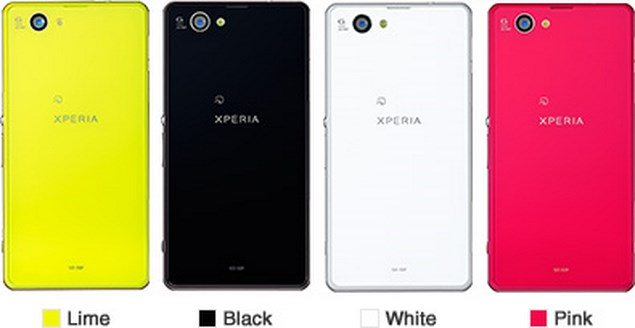 Sony Xperia Z1f Mini (SO-02F) - анонс и характеристики
