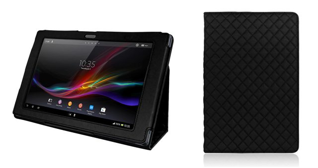 Folio PU Leather Case Cover – чехол-подставка для Sony Xperia Tablet Z