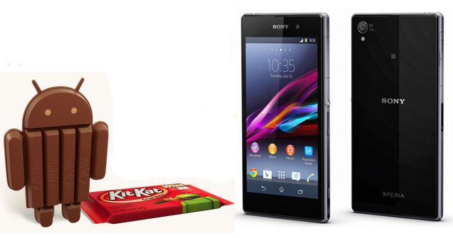Android 4.4 KitKat для Xperia Z1, Xperia Z Ultra и Xperia Z1 Compact выйдет в апреле