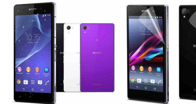 Дисплей Sony Xperia Z2 и Tablet Z2 избавили от пленки