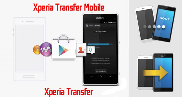 xperia transfer mobile инструкция