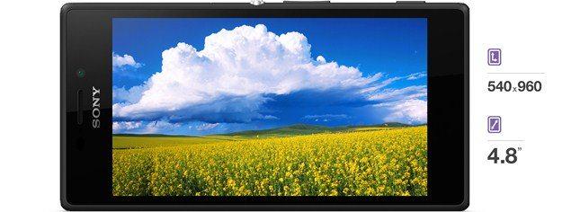 Смартфон Sony Xperia M2 - дисплей устрйоства