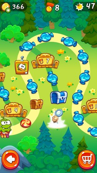 Cut the Rope 2 – головоломка-пазл для Sony Xperia Z2, Z1, Compact, Z, Ultra, C, M, Tablet, ZL, ZR, SP