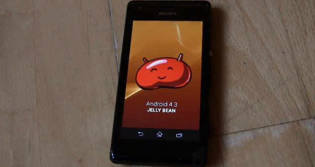 Sony Xperia M получил прошивку Android 4.3 Jelly Bean
