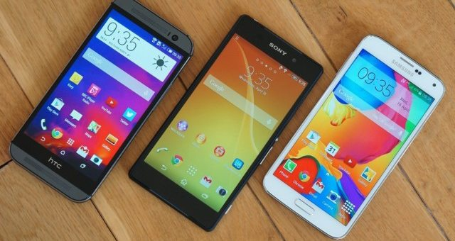 Сравниваем Sony Xperia Z2 vs Samsung Galaxy S5 vs HTC One