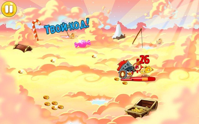 РПГ игра Angry Birds Epic для Sony Xperia Z2, Z1, Compact, Z, Ultra, C, M, Tablet, ZL, ZR, SP