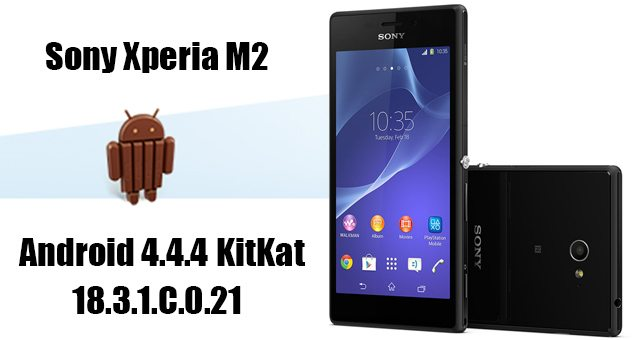 Android 4.4.4 KitKat (18.3.1.C.0.21) для Sony Xperia M2