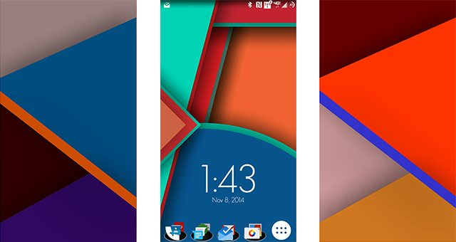 Обои Material Design для Sony Xperia Z2, Z1, Compact, ZR, M2, C, T3, C3
