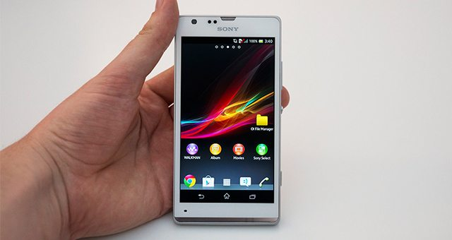 Смартфон Sony Xperia SP - обзор на видео