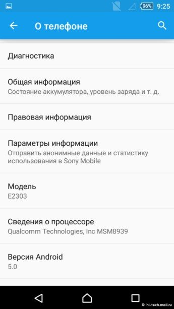 Как выглядит Xperia Home Android 5 0 Lollipop на Sony Xperia