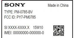 Sony PM-0780 - возможный Xperia Z4 прошел тесты FCC