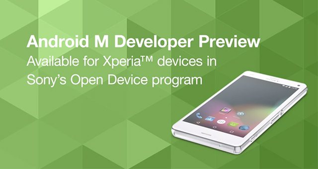 Android M Developer Preview на Sony Xperia - скачать