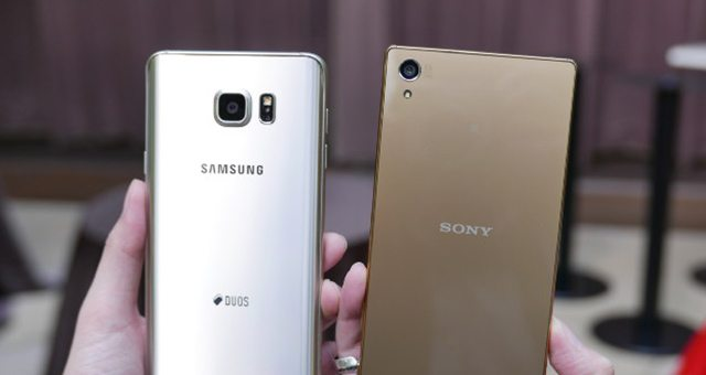 камера фото Sony Xperia Z5 Premium vs Samsung Galaxy Note 5