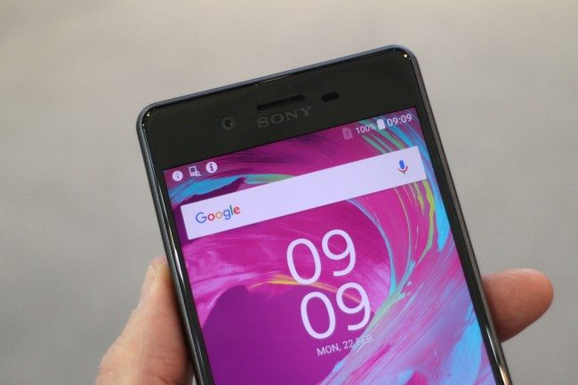 живые фото Sony Xperia X Performance