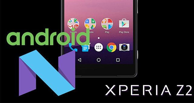идёт портирование Android N Developer Preview на Sony Xperia Z2