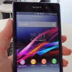 Первая фееричная встреча с Sony Xperia Z1