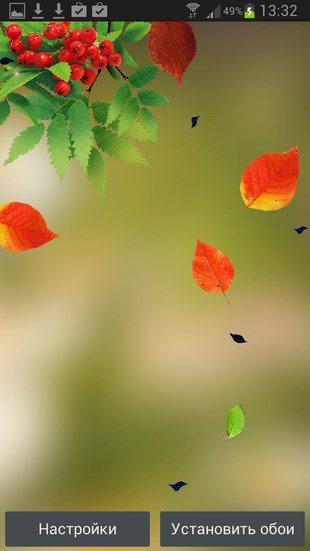 Осенний Листопад – красивая осень на Сони Иксперия