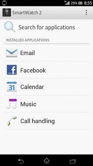SmartWatch 2 SW2 – приложение для работы с умными часами
