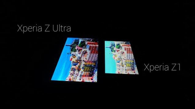 Тест-сравнение дисплея Sony Xperia Z1 и Sony Xperia Z Ultra