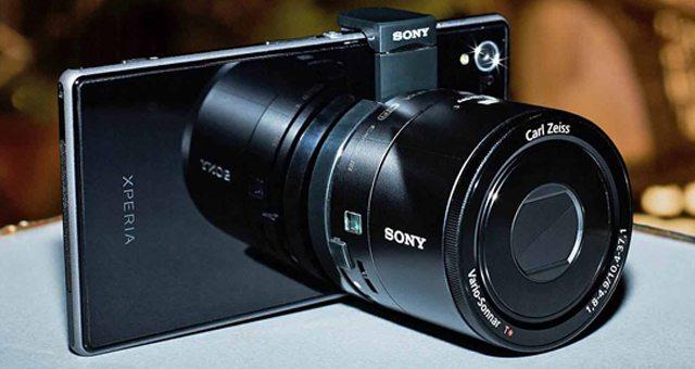 цена Sony DSC-QX10 и Sony DSC-QX100