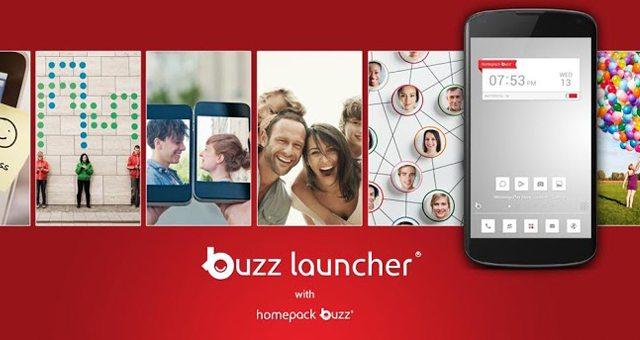 Buzz Launcher – стильный лаунчер для Sony Xperia