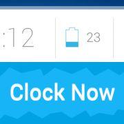 Clock Now – минималистичные виджеты для Sony Xperia