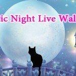 Mystic Night Live Wallpaper – лунная ночка на экране Sony Xperia