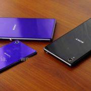 На фото засветился фиолетовый Sony Xperia Z1 Mini
