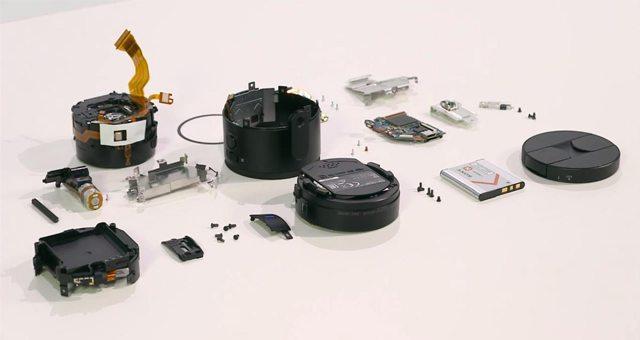 Обзор объектива Sony QX100 – видео его разборки и линзы