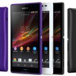 В России скоро начнутся продажи Sony Xperia C