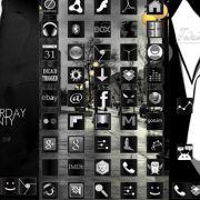 Tuxedo Icon Pack – тема для лаунчеров для Сони Иксперия Z, Л, J, зет