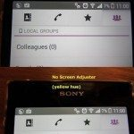 Проблема с отображением белого на экране Sony Xperia Z1 и её решение