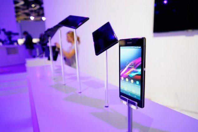 Дизайн Sony Xperia Z1