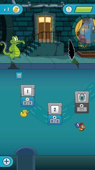 Крокодильчик Свомпи 2 – где вода на Sony Xperia