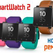 Новые ремешки для Sony SmartWatch 2: четыре ярких цвета и два кожаных браслета