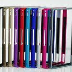 Металлический бампер Aluminum Bumper Metallic для Sony Xperia Z