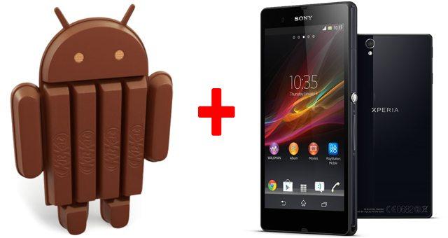 Sony Xperia Z1 получит Android 4.4 KitKat уже в ноябре