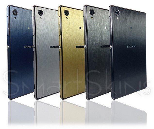 Brushed Metal Cover – защитный кейс для Sony Xperia Z1
