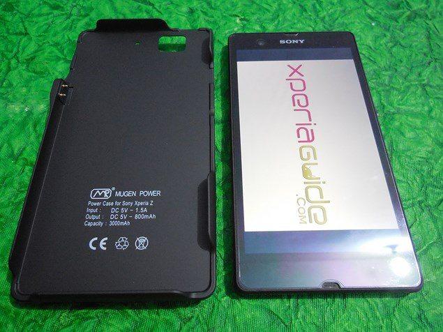Mugen Power 3000 mAh – чехол с аккумулятором для Sony Xperia Z