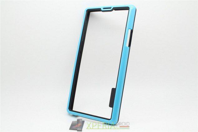 Пластиковый бампер Soft Frame Bumper для Sony Xperia Z1