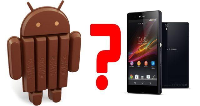 Выход Android 4.4 KitKat на Sony Xperia Z1 пока не ожидается