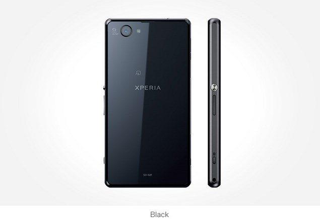 Фото Sony Xperia Z1f Mini черный