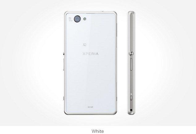 Фото Sony Xperia Z1f Mini белый