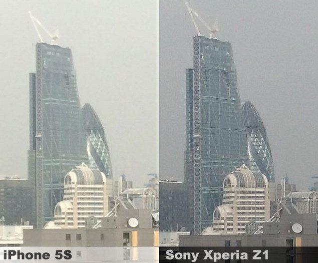 Сравнение фото с камер Sony Xperia Z1 и iPhone 5S