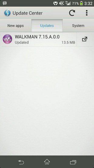 Вышло обновление WALKMAN до версии 7.15.A.0.0