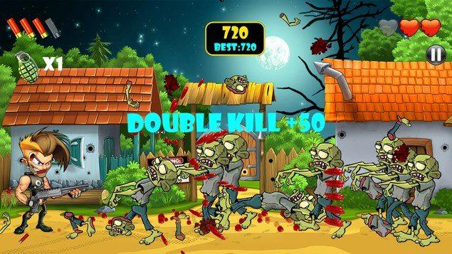 Zombie Area! – зомби-штурм для Sony Xperia Z